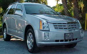 Image of recalled Cadillac