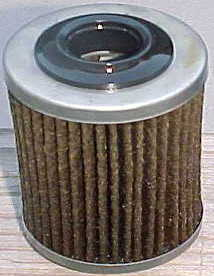 close up of cartridge oil filter